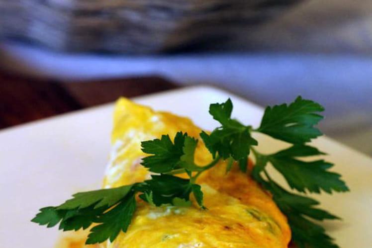 Omelette dans le sachet