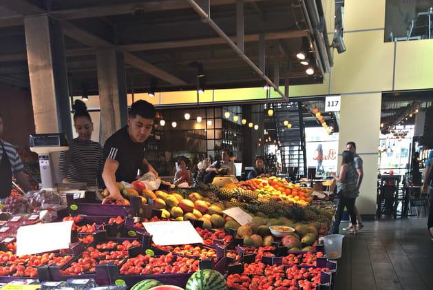Le marché couvert Markthal