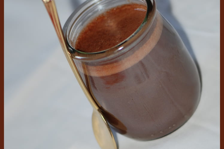 Petit pot de crème au Nutella
