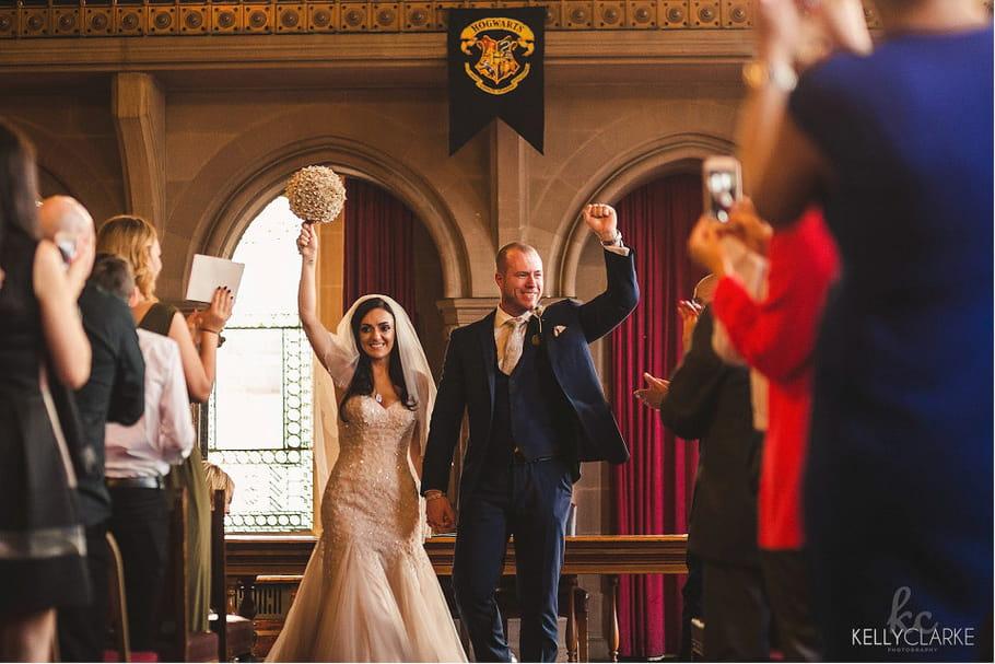 Un mariage magique sur le thème Harry Potter
