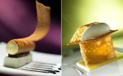 les desserts des deux gagnants