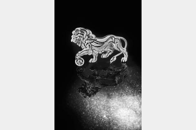 """La broche """"Lion Céleste"""""""