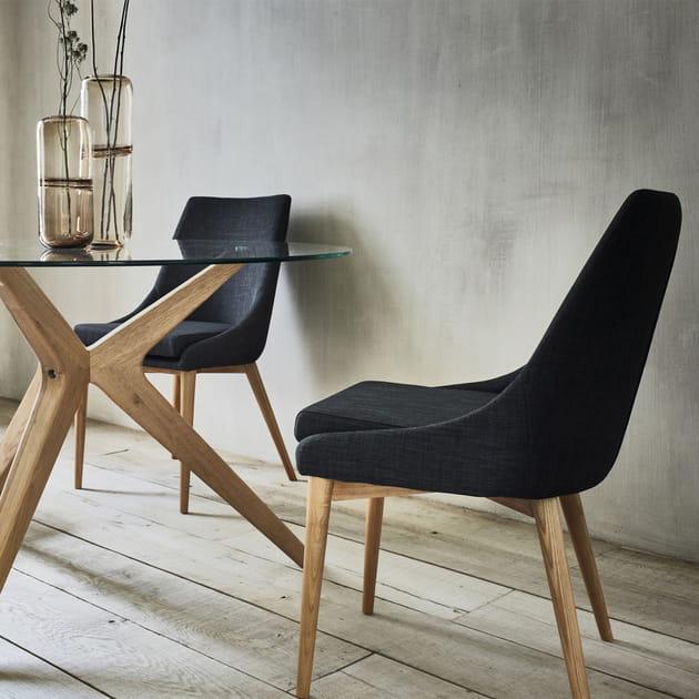 Une chaise bi-matière