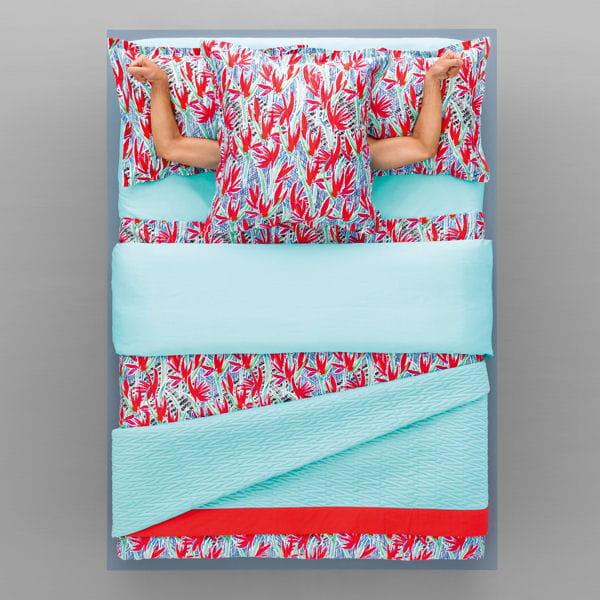 parure paradisiaque de kenzo. Black Bedroom Furniture Sets. Home Design Ideas