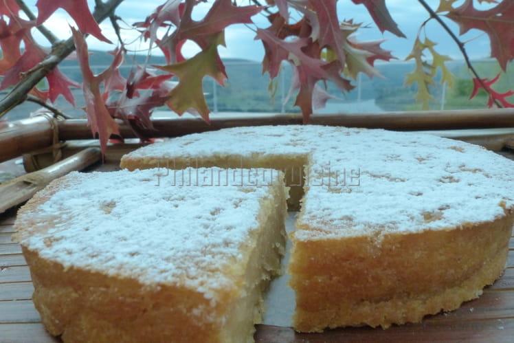 Gâteau à la compote de pommes ou Apfelmuskuchen