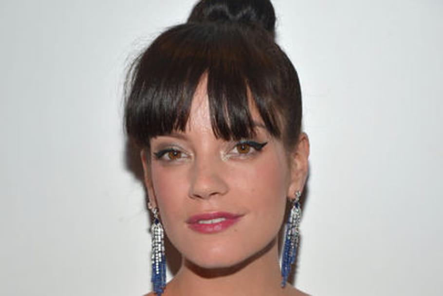 Look beauté Cannes 2014 : Lily Allen, rétro