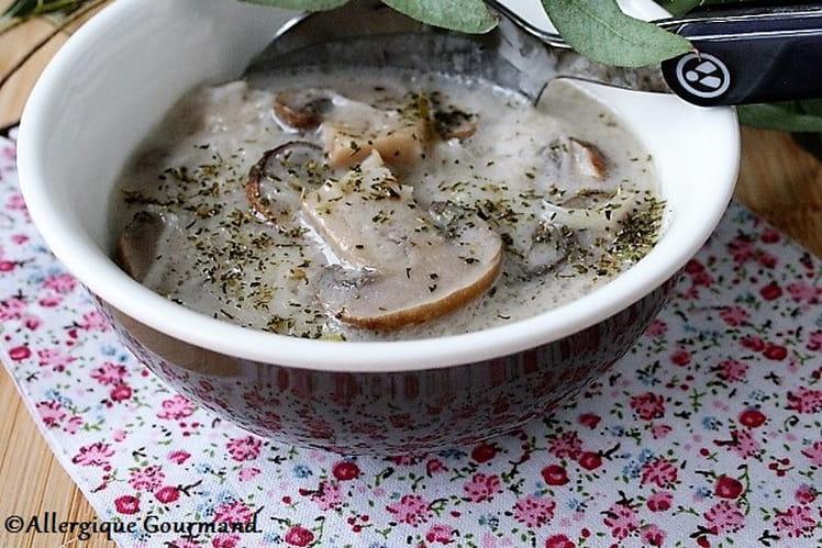 Soupe asiatique sans gluten