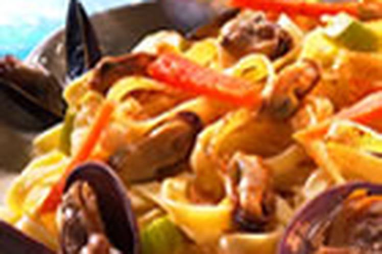 Fettucine aux fruits de mer