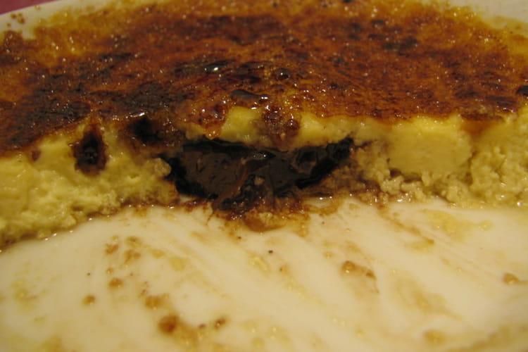 Crème brûlée coeur Nutella