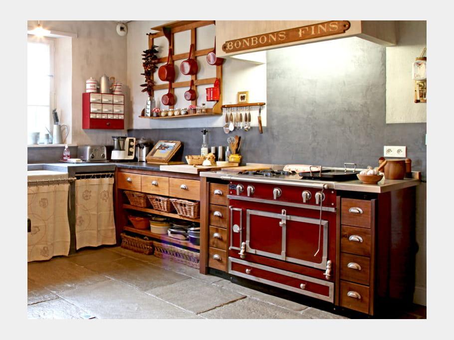 Cuisine en bois familiale cuisine en bois le naturel for Cuisine familiale