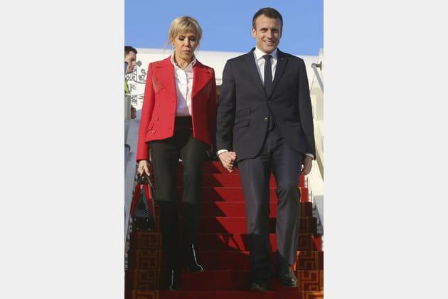 Brigitte Macron le 31janvier 2018
