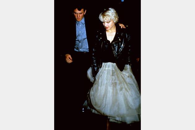 Madonna le 17avril 1986