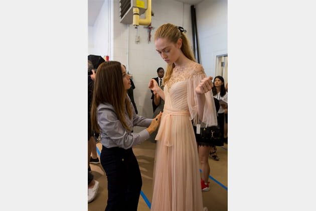 Monique Lhuillier (Backstage) - photo 16