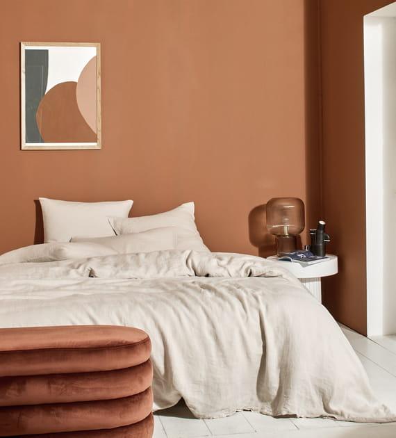L'objet du désir: la parure de lit en lin lavé de Bonsoirs