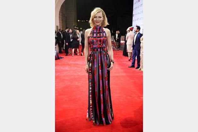 Cate Blanchett le 6décembre 2017