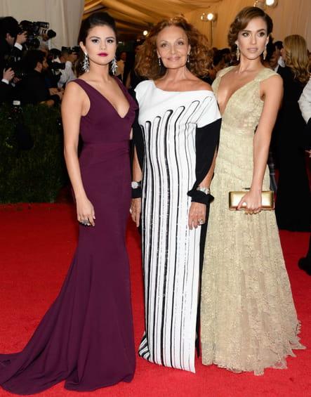 Selena Gomez, Diane Von Furstenberg et Jessica Alba