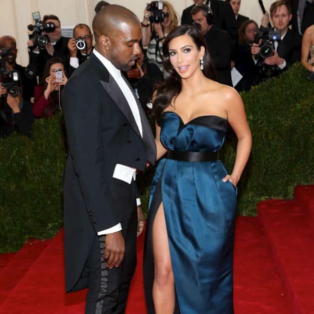 Kanye West et Kim Kardashian Met Ball 2014