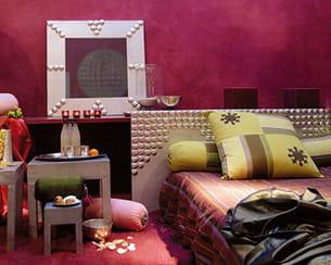ambiance 'tadelakt oriental' de maison décorative