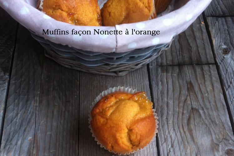 Muffins façon nonette à l'orange