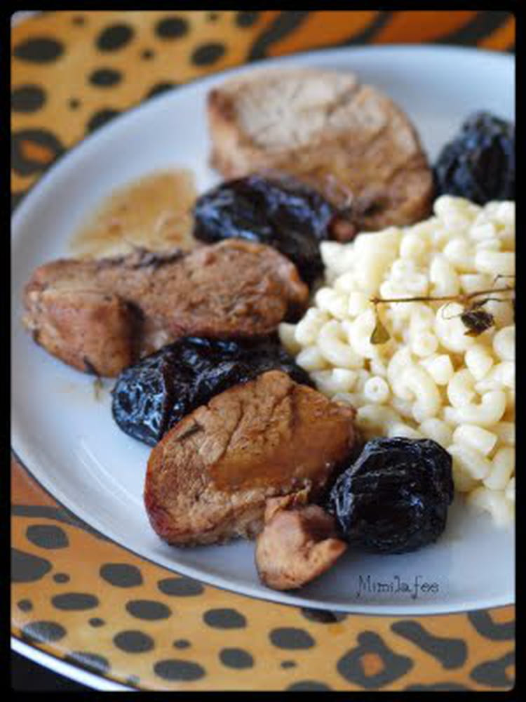Recette de filet mignon aux pruneaux la recette facile - Cuisiner filet mignon ...