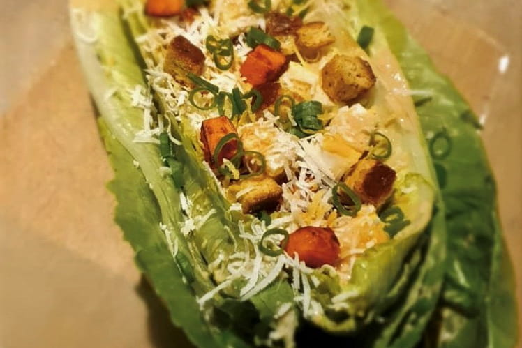 La salade César version végé