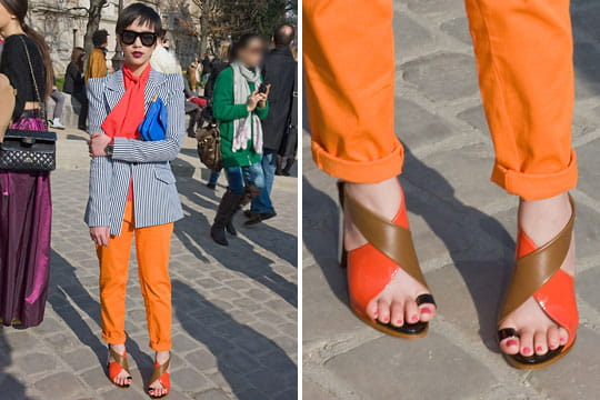 Fashion week : les street looks des défilés parisiens PAP automne-hiver 2011-2012 76