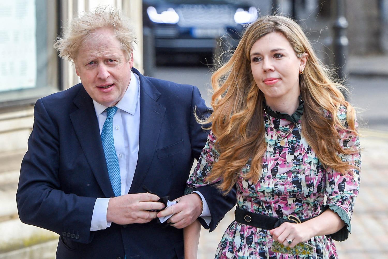 Boris Johnson et Carrie Symonds attendent un nouvel enfant -PHOTO