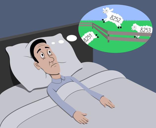 Il faut compter les moutons pour s'endormir ?