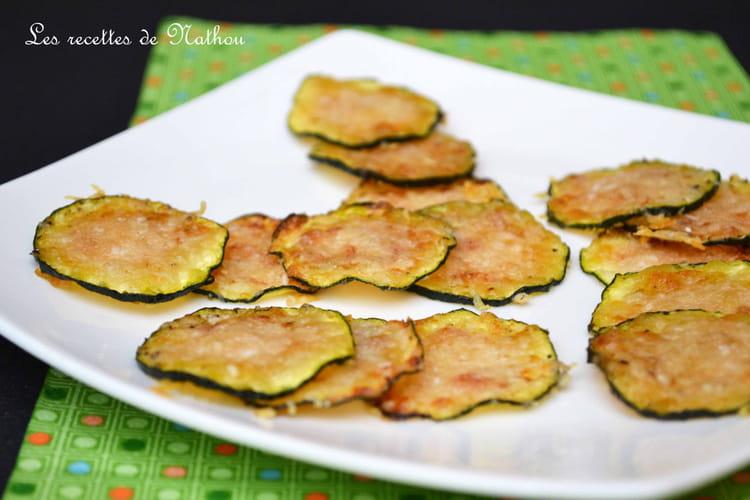 Recette de chips de courgettes grill es au parmesan la recette facile - Recettes de langoustes grillees ...