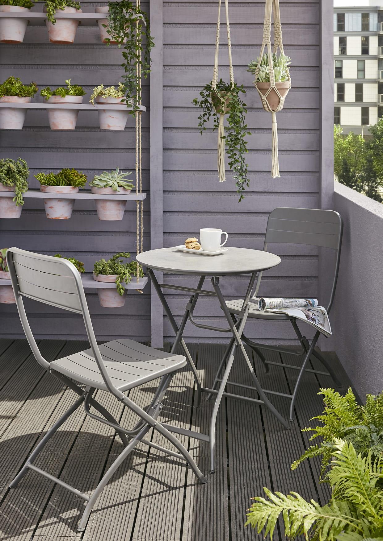 salon de balcon blooma holi castorama. Black Bedroom Furniture Sets. Home Design Ideas