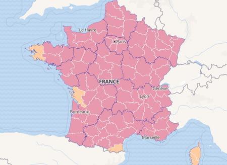 Taux d'incidence en France au 26 novembre