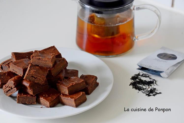 Fondant au chocolat noir et lait concentré sucré