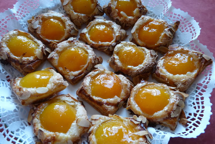 Feuilleté abricots et amandes