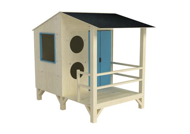 maisonnette en bois de leroy merlin. Black Bedroom Furniture Sets. Home Design Ideas