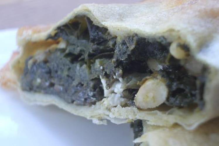 Spanakopita (feuilleté aux épinards)