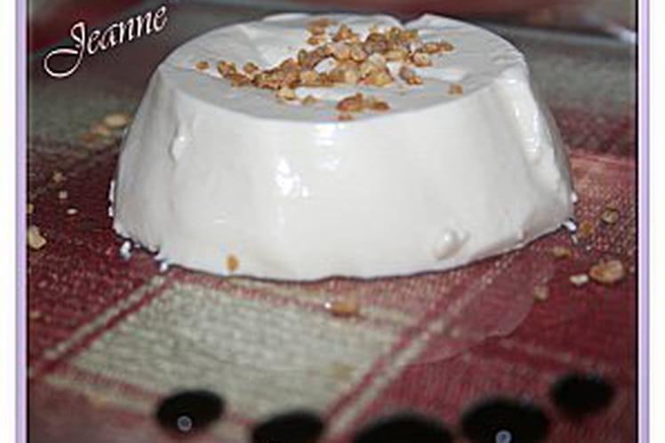 Panna cotta à la vanille express
