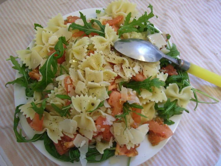 recette de salade de p 226 tes 224 l italienne la recette facile