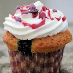 cupcakes aux mûres