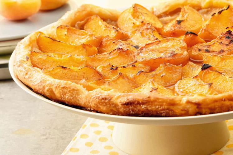 Tarte fine aux abricots