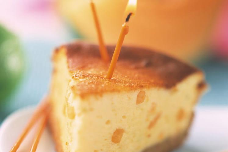 Cheesecake au melon philibon - gâteau d'anniversaire
