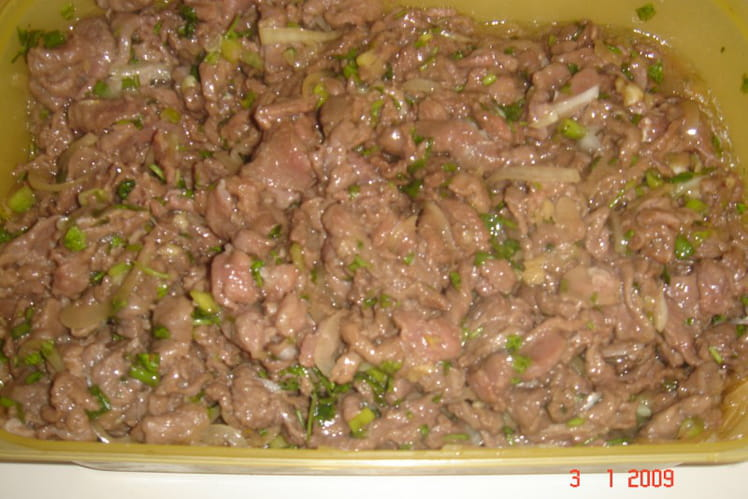 salade de cerf