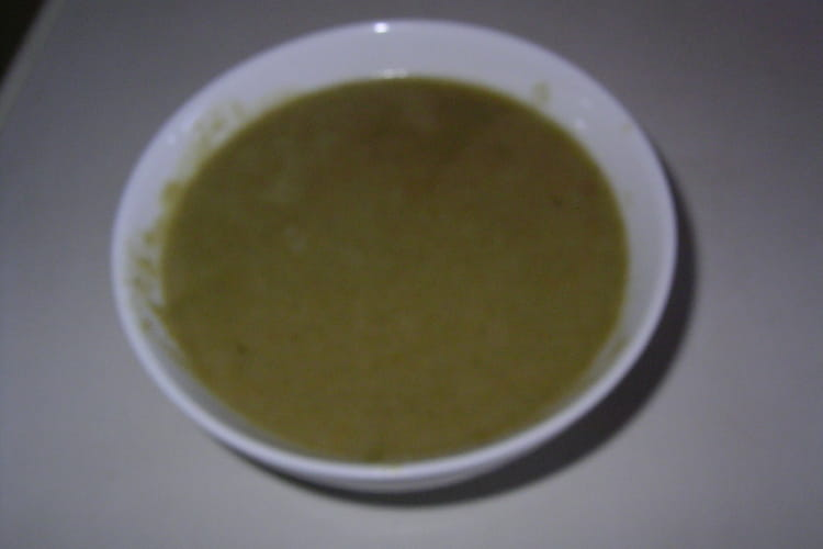 Crème de courgettes