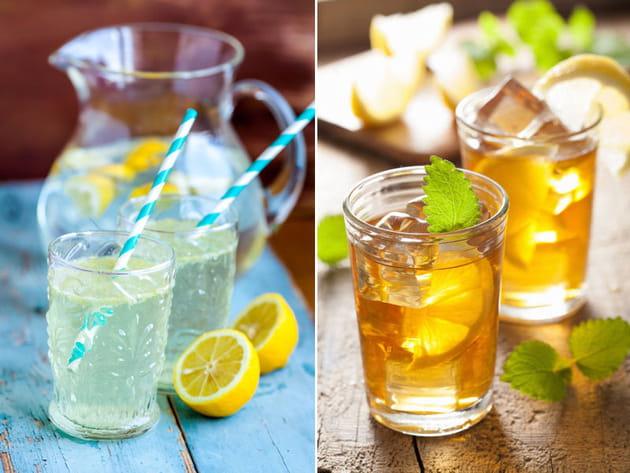 Limonade ou thé glacé ?