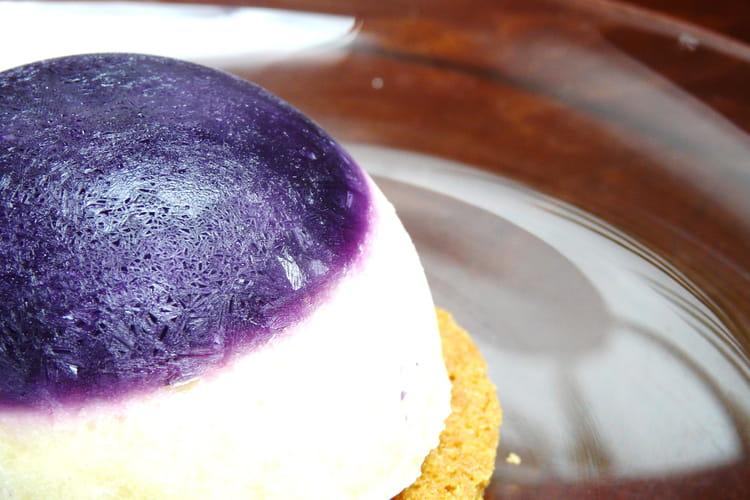 Dessert glacé exotique