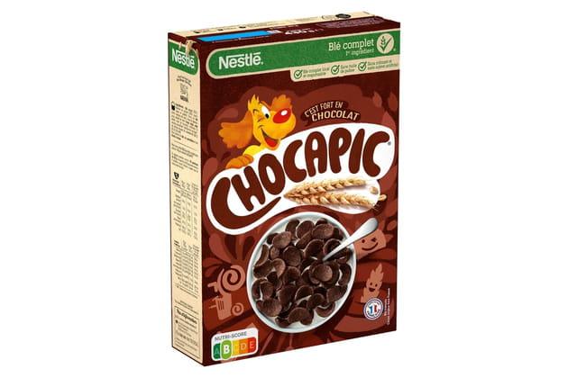 Les céréales CHOCAPIC®