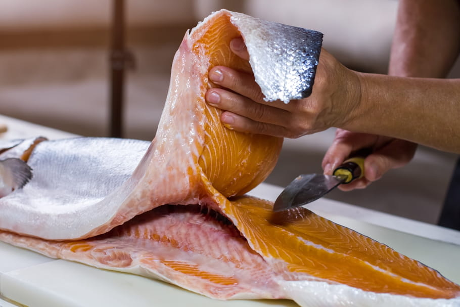 Technique : lever facilement les filets de poisson