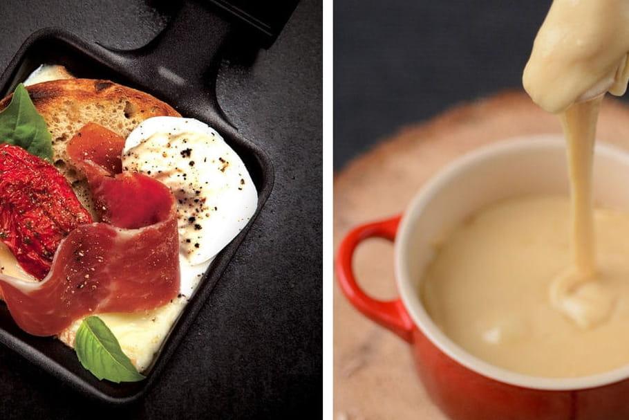 Raclette ou fondue: le match