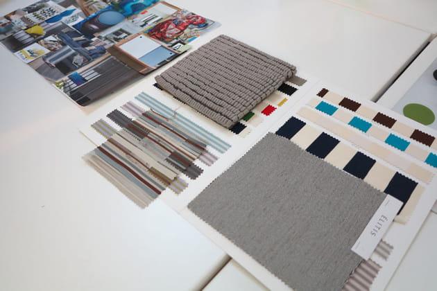 Planches de style et matières