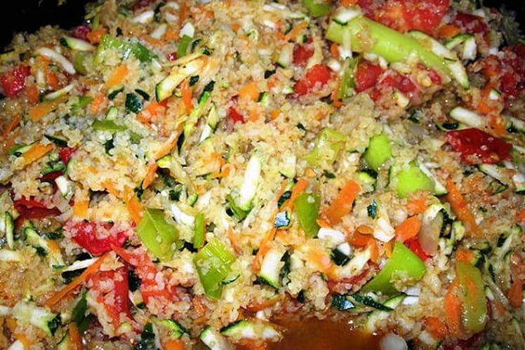 Boulghour aux légumes