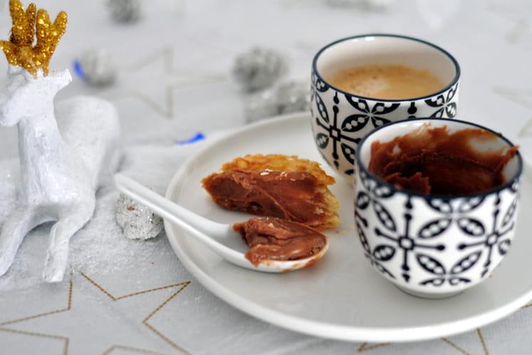 Pâte à tartiner Carambar & chocolat blanc